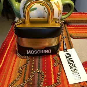 Moschino H&M Padlock Crossbody Bag